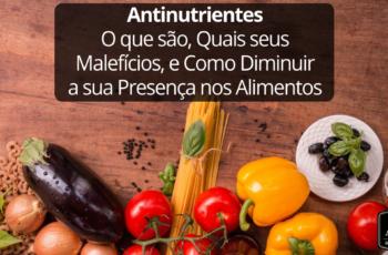 Antinutrientes: O que são, Quais seus Malefícios, e Como Diminuir a sua Presença nos Alimentos