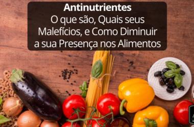 Antinutrientes: O que são, Porque Fazem Mal, e Como Diminuí-los nos Alimentos
