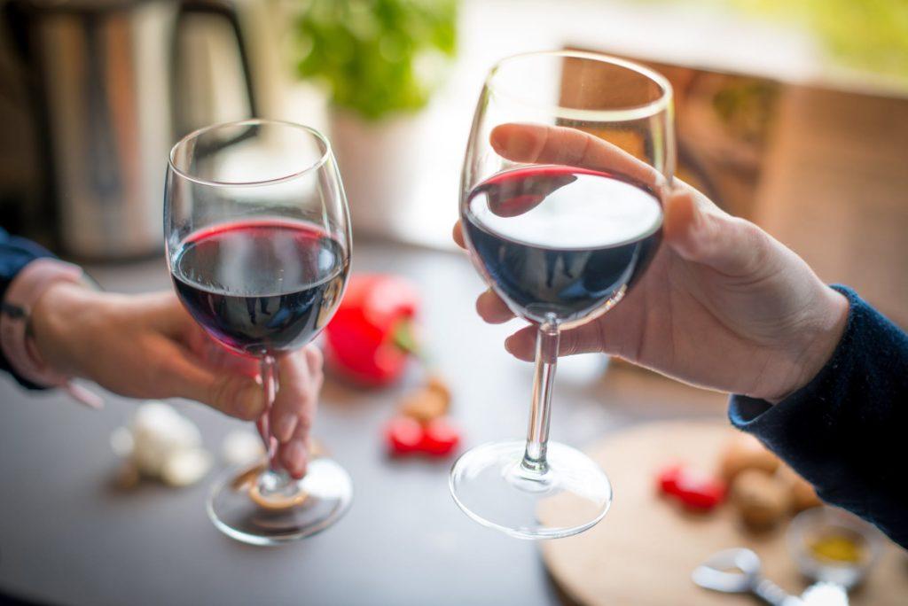 vinho na dieta low carb