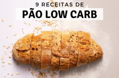 Receitas de Pão Low Carb: As 9 Melhores e Mais Fáceis